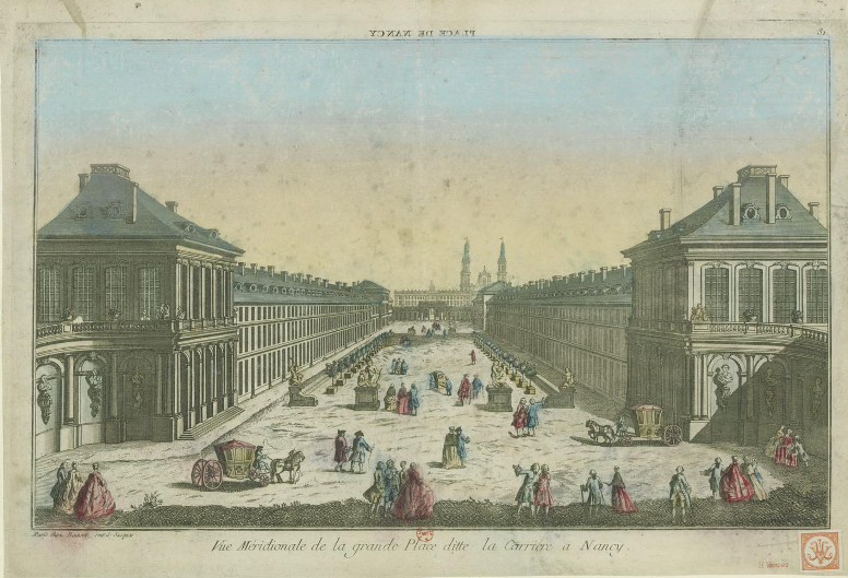 Place dite de la Carrière à Nancy 1785